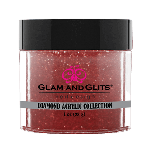 Glam & Glits | DIAMOND ACRYLIC COLLECTION | DAC89 RUBY RED