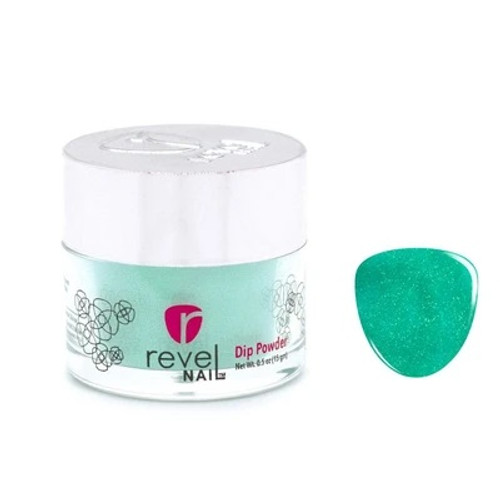 Revel Mates Matching Dip Powder 2 oz & Polish 0.5oz | Beach, Please Collection | D542 Swell
