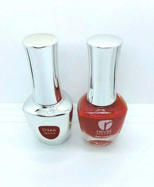 Revel Lacquer + Gel DUO | 366 Maple