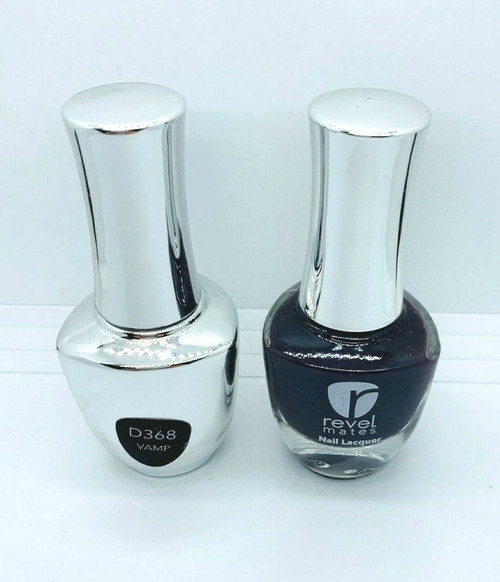 Revel Lacquer + Gel DUO | 368 Vamp