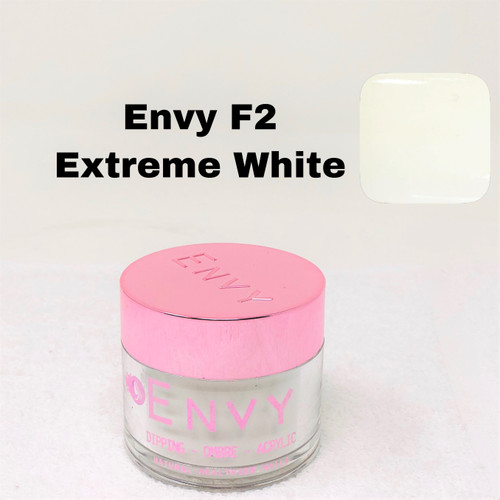 Envy Dipping - Ombre - Acrylic Powder | F2 Extreme White