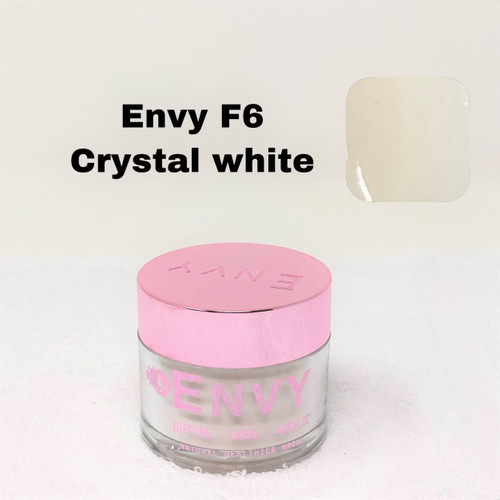 Envy Dipping - Ombre - Acrylic Powder | F6 Crystal White