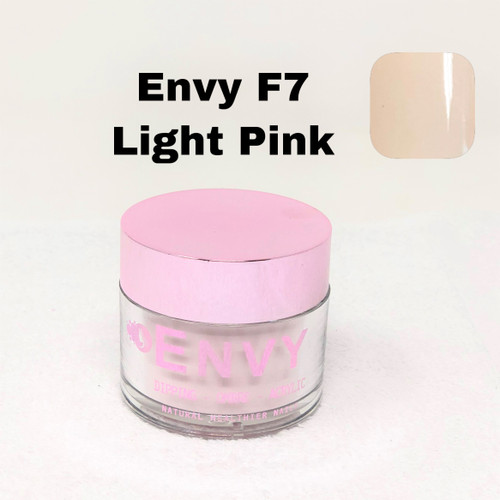 Envy Dipping - Ombre - Acrylic Powder | F7 Light Pink