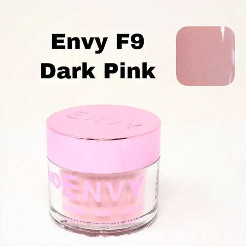 Envy Dipping - Ombre - Acrylic Powder | F9 Dark Pink