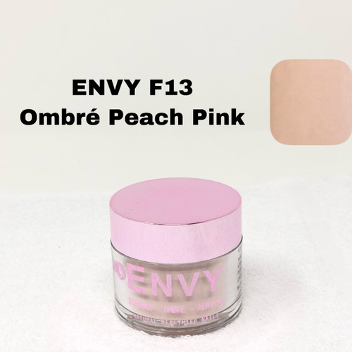 Envy Dipping - Ombre - Acrylic Powder | F13 Ombre Peach Pink