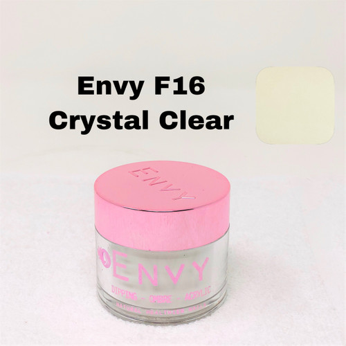 Envy Dipping - Ombre - Acrylic Powder | F16 Crystal Clear