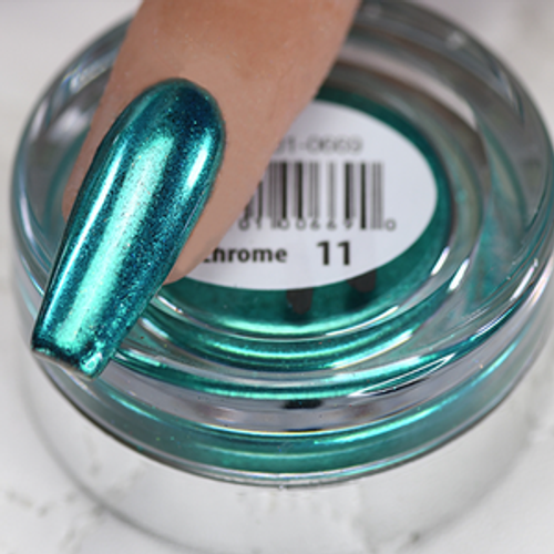 Cre8tion Chrome Nail Art Effect 1g | 11 Turquoise Chrome