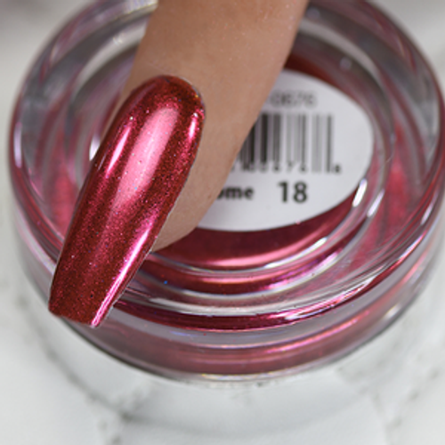 Cre8tion Chrome Nail Art Effect 1g | 18 Rose Pink Chrome