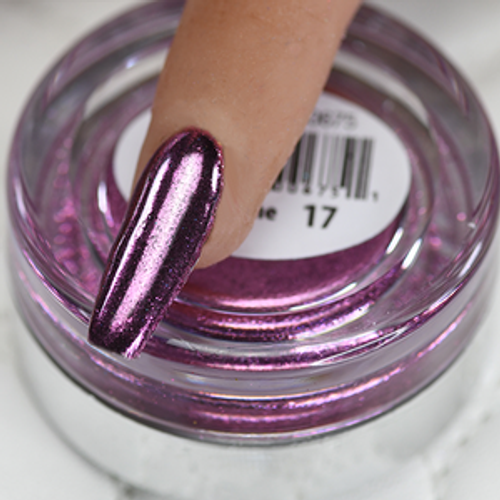 Cre8tion Chrome Nail Art Effect 1g | 17 Hot Pink Chrome