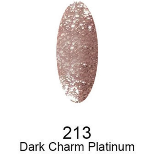 DND DC Platinum Soak-off Gel | 213 Dark Charm Platinum