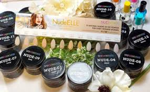 Nugenesis Easy Nail Dip NudeELLE Collection | Nude 10 | GRACE