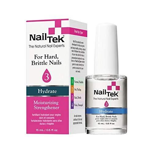 Nail Tek Moisturizing Strengthener 3 Hydrate 0.5 oz