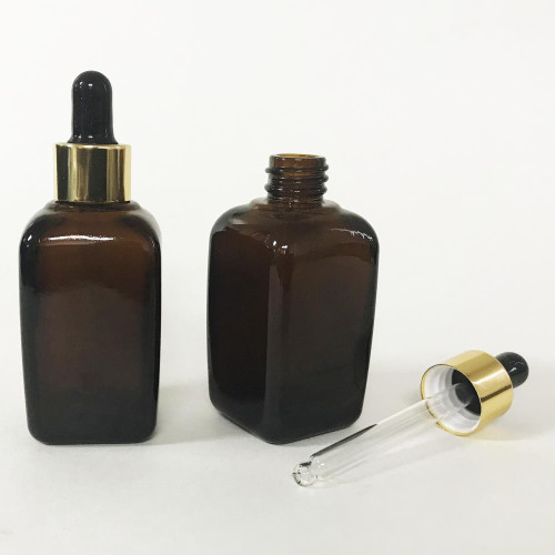 Berkeley Square Bottle with Dropper 43ml ~ 1.4 fl oz | Amber