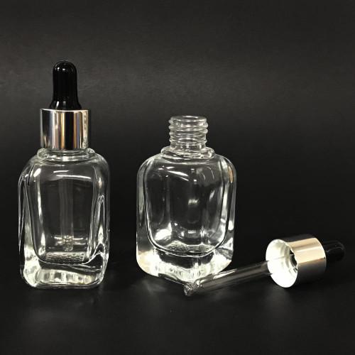 Berkeley Square Bottle with Dropper 35ml ~ 1.2 fl oz | Ultra Clear