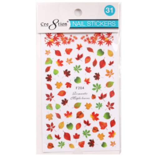 Nail Art Sticker | Autumn Leaves 31