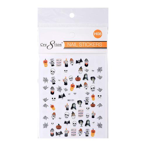 Nail Art Sticker | Halloween H08