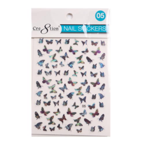 Nail Art Sticker | Butterfly 05