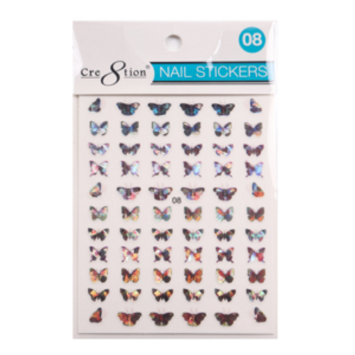Nail Art Sticker | Butterfly 08
