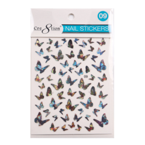 Nail Art Sticker | Butterfly 09
