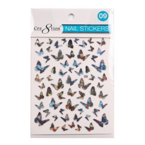 Nail Art Sticker | Butterfly 09