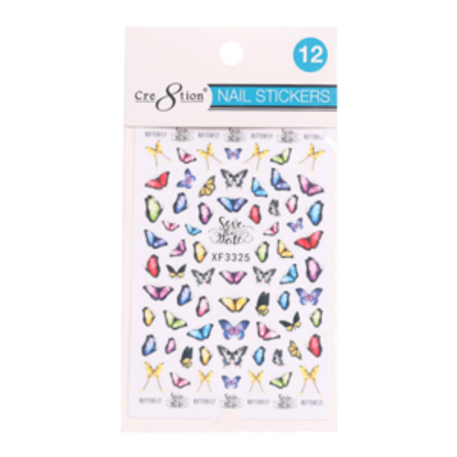 Nail Art Sticker | Butterfly 12