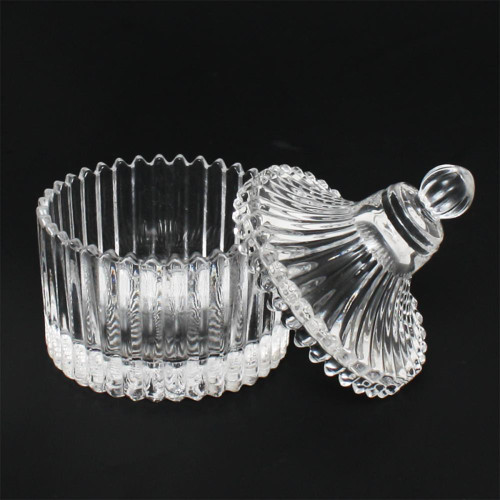 Berkeley Vintage-1 glass Jar & Cup with glass lid
