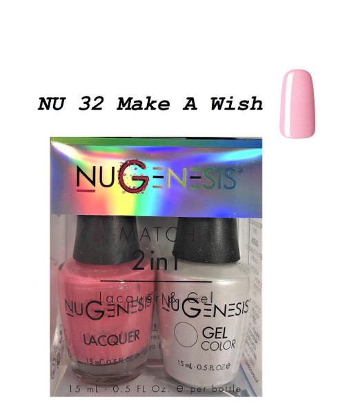 NUGENESIS Gel & Lacquer Combo | NU32 Make A Wish