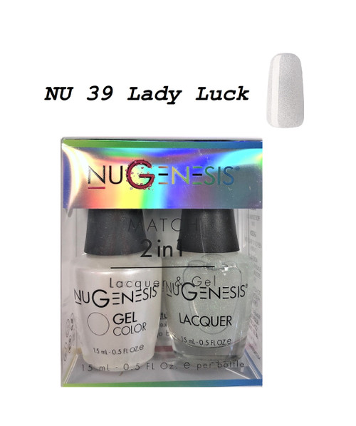 NUGENESIS Gel & Lacquer Combo | NU39 Lady Luck