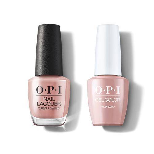 OPI GelColor & Lacquer Combo | I'm an Extra (H002)