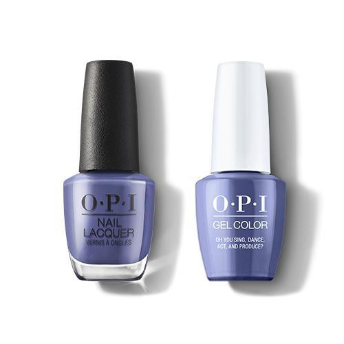OPI GelColor & Lacquer Combo | Oh You Sing, Dance, Act and Produce? (H008)