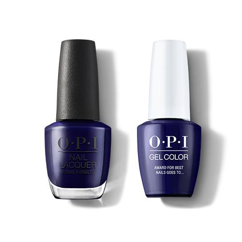 OPI GelColor & Lacquer Combo | Award for Best Nails goes to… (H009)
