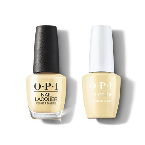 OPI GelColor & Lacquer Combo | Bee-hind the Scenes (H005)