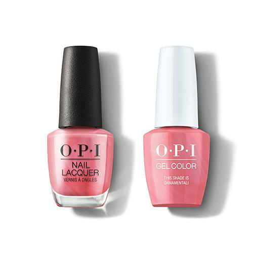 OPI GelColor & Lacquer Combo | This Shade Is Ornamental! (HRM03)
