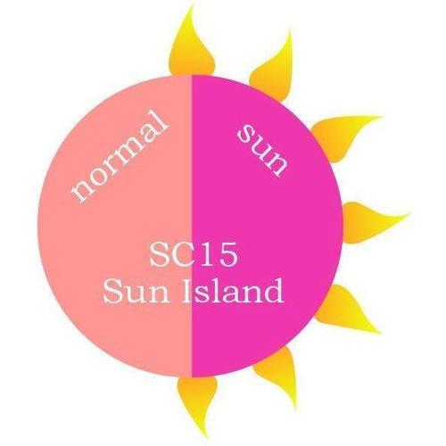Revel Nail Dip Powder SUN MOOD CHANGE 2 oz - SC15 Sun Island