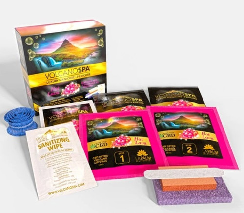 Volcano Spa CBD+ Edition - 10 steps | Hot Lava | 1 pack