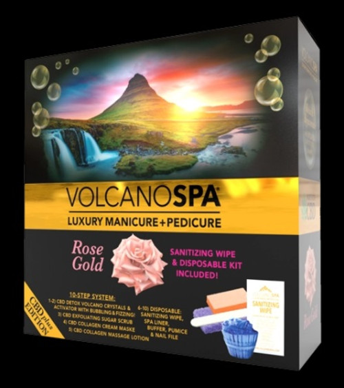 Volcano Spa CBD+ Edition - 10 steps | Rose Gold | 1 pack