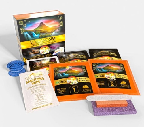 Volcano Spa CBD+ Edition - 10 steps | Beach Paradise | 1 pack