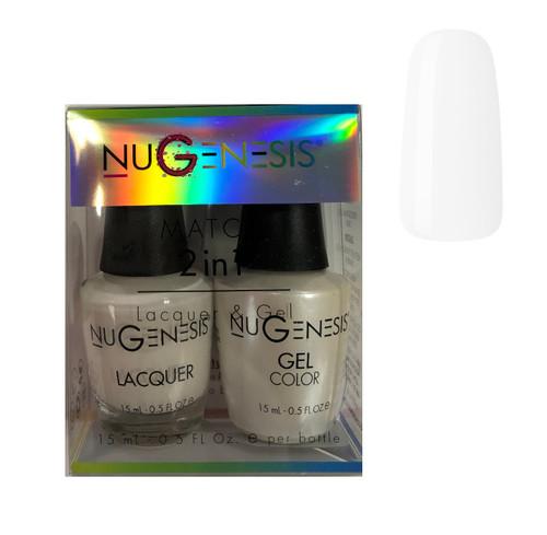 NUGENESIS Gel & Lacquer Combo  NU 75 Latte Love