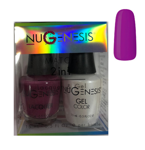 NUGENESIS Gel & Lacquer Combo |NU 83 My Girl