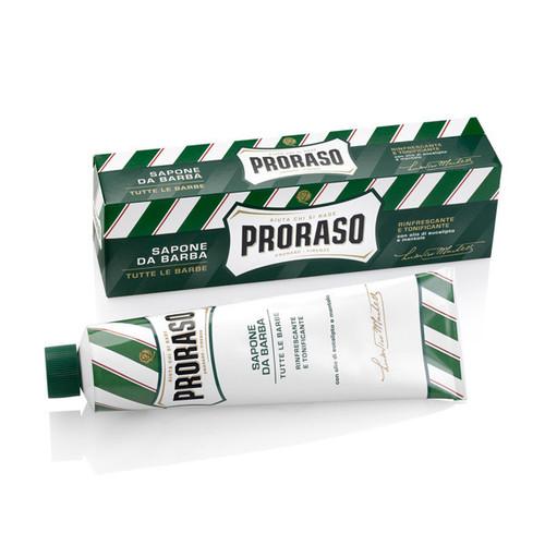 Proraso GREEN Shaving Cream Tube - Menthol & Eucalyptus