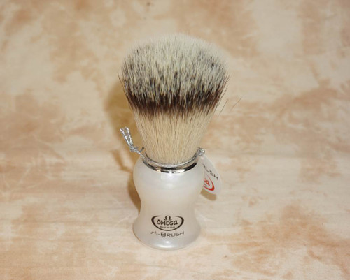 Omega 46774 White Pearl Hi Brush
