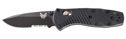 Benchmade 585SBK Mini Barrage Serrated