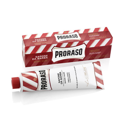 Proraso RED Shaving Cream - Sandalwood with Shea Butter
