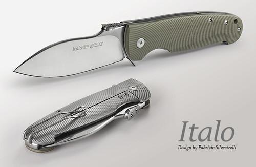 """Viper Italo, Titanium M390 3 3/4"""" Blade, Frame lock"""
