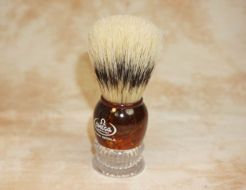 Omega 11777 Tortoise Boar Brush