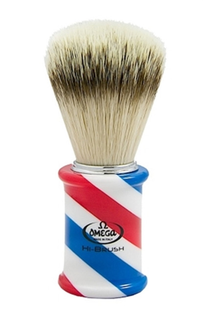 Omega 46735 Barber Pole Hi-Brush