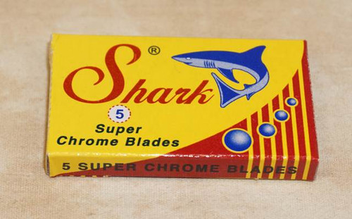 Shark Super Stainless Double Edge Razor Blades, 5 blades