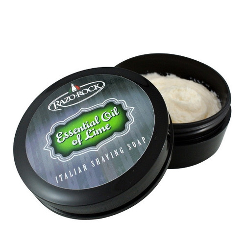 RazoRock Essential Oil Of Lime Italian Shaving Soap
