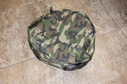 Camo bum bag for field target
