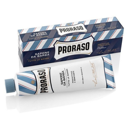 Proraso BLUE Shaving Cream Tube - Aloe & Vitimin